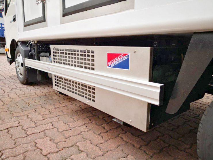 refrigerated trucks servicing singapore
